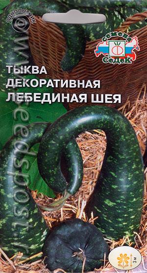 Тыква декоративная Лебединая шея, 1 г